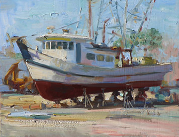 NOAPS Kalwick Boat Yard 11x14 wm kalwick