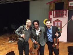 Klarinette Geige Gitarre