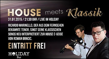 HOUSE meets KLASSIK | im HOLIDAY