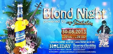 Blond Night | HOLIDAY