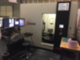 This is the X5000 CT scan system at Delphi Precision Imaging