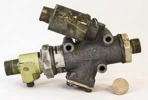 Multi material valves can be inspected using industrial CT services a Delphi Precision Imaging.