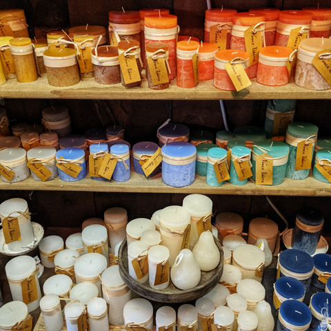 Candles in Kennebunkport