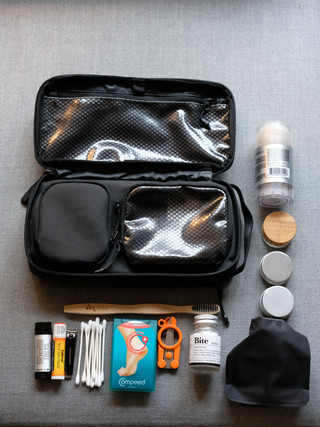 Toiletry Bag 2.0 Packing List