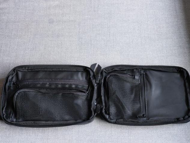 Explorer Slim Toiletry Bag Open