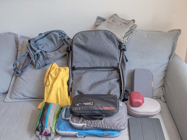Aer Travel Pack 2 Packing List 2