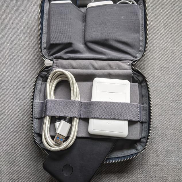 Bellroy Tech Kit Inside
