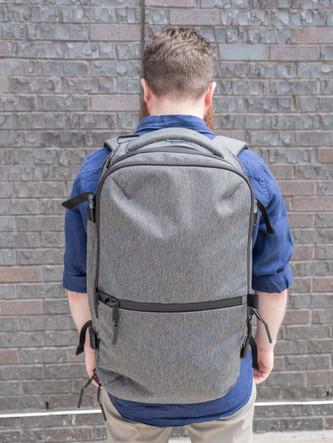 Wearing Aer Travel Pack 2
