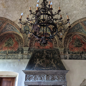 Torre Di Bellosguardo Frescos