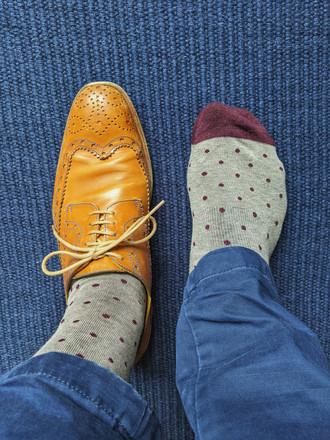 Mack Weldone Silver Socks