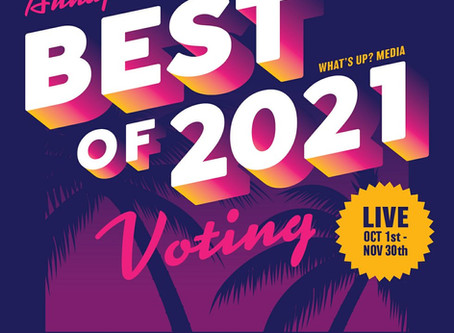 October is the month to once again vote for One. in What's Up? Annapolis for best of 2021