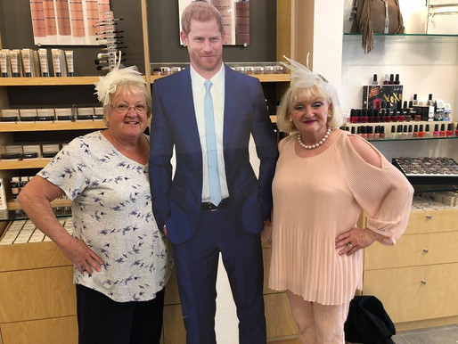 Covington Plaza's Merle Norman Cosmetics Celebrate Royal Wedding