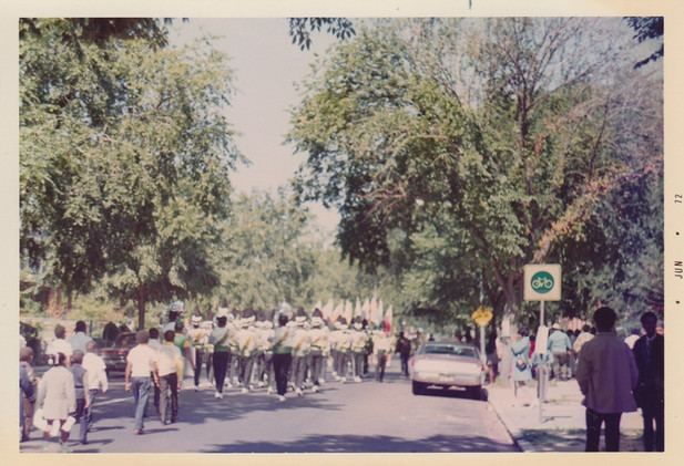 VIP Drum Corps in a Parade