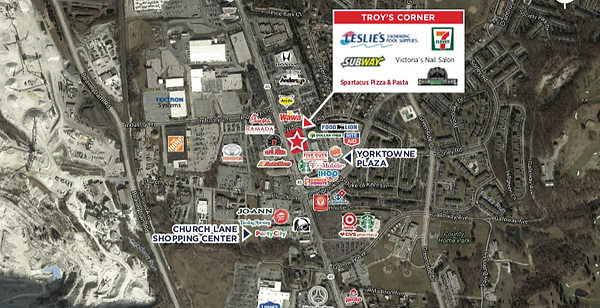 TROY'S CORNER SITE OVERVIEW