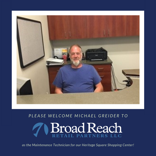 Join us in welcoming Michael Greider as our newest employee!