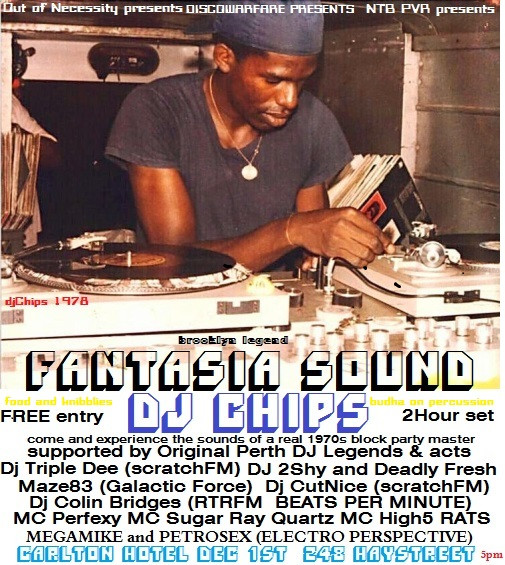 DJ Chips Carlton Hotel