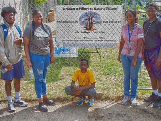 The Village Tree Volunteer Weekend