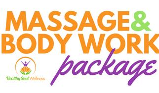 Three 90 Min. Massage & Body Work Package