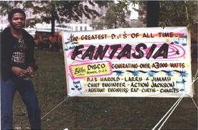 Larry B and FANTASIA Sign
