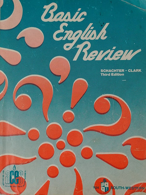 Basic English Review Third Edition By Schachter Clark