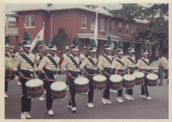 VIP drum line