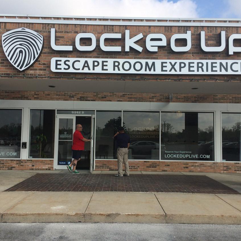 Locked Up Exterior
