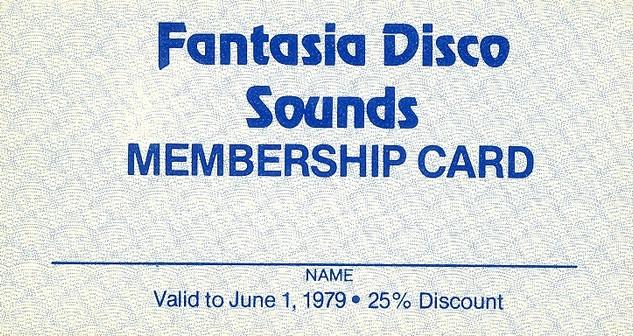 Fantasia Membership Card