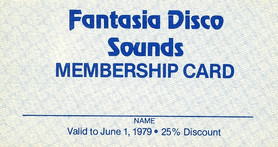 Fantasia Membership Card