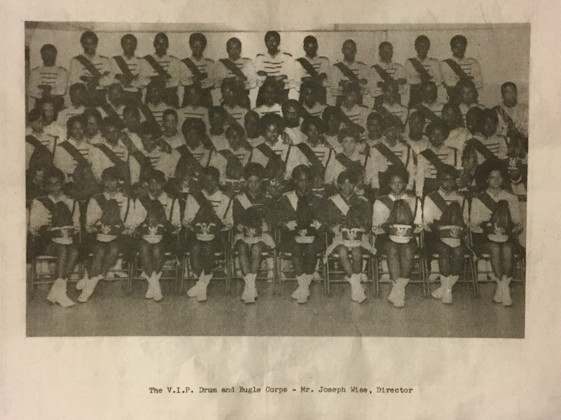 VIPS 1969 Corps Black and White Photo