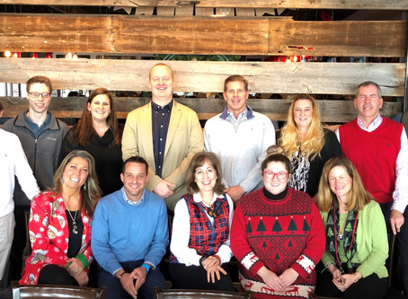 ​Broad Reach Staffers Holiday Lunch