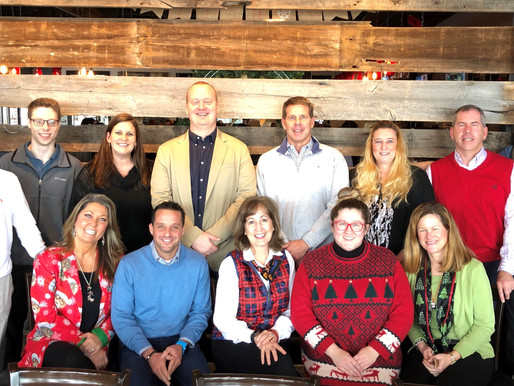 Broad Reach Staffers Holiday Lunch