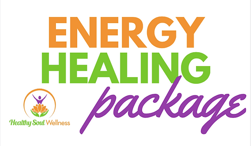 Three 1 Hour Energy Healing Sessions