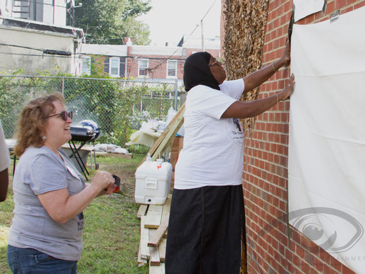 Peace Week Delaware  EXPRESS YOUR THOUGHT MURAL
