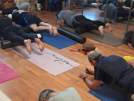 Virtual Power Stretch class with Sue Clements