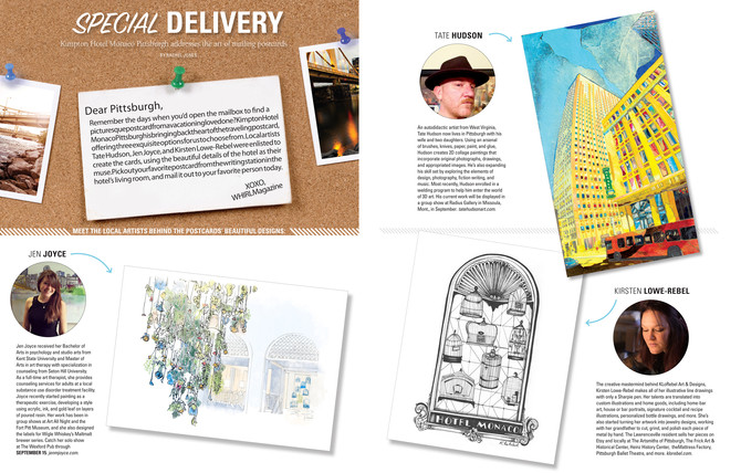 "WHIRL Magazine ""Special Delivery"""