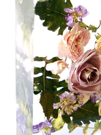 """top view - bouquet 8"""" square - cole & laura"""