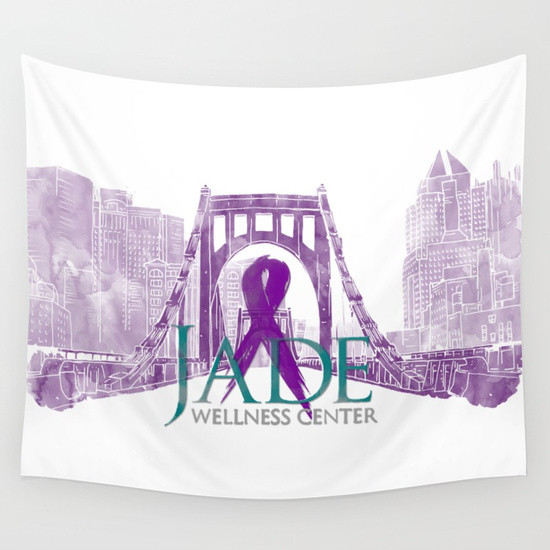 banner design jade wellness center pittsburgh recovery walk 2017