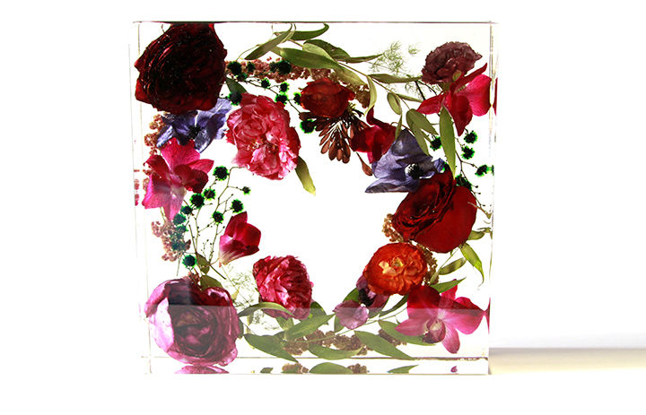 Resin Floral Preservation