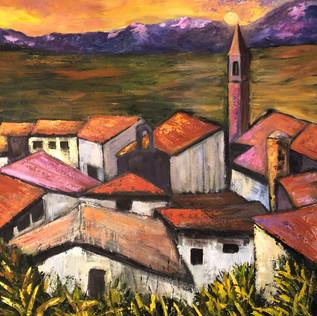 Rooftops in Italian Village