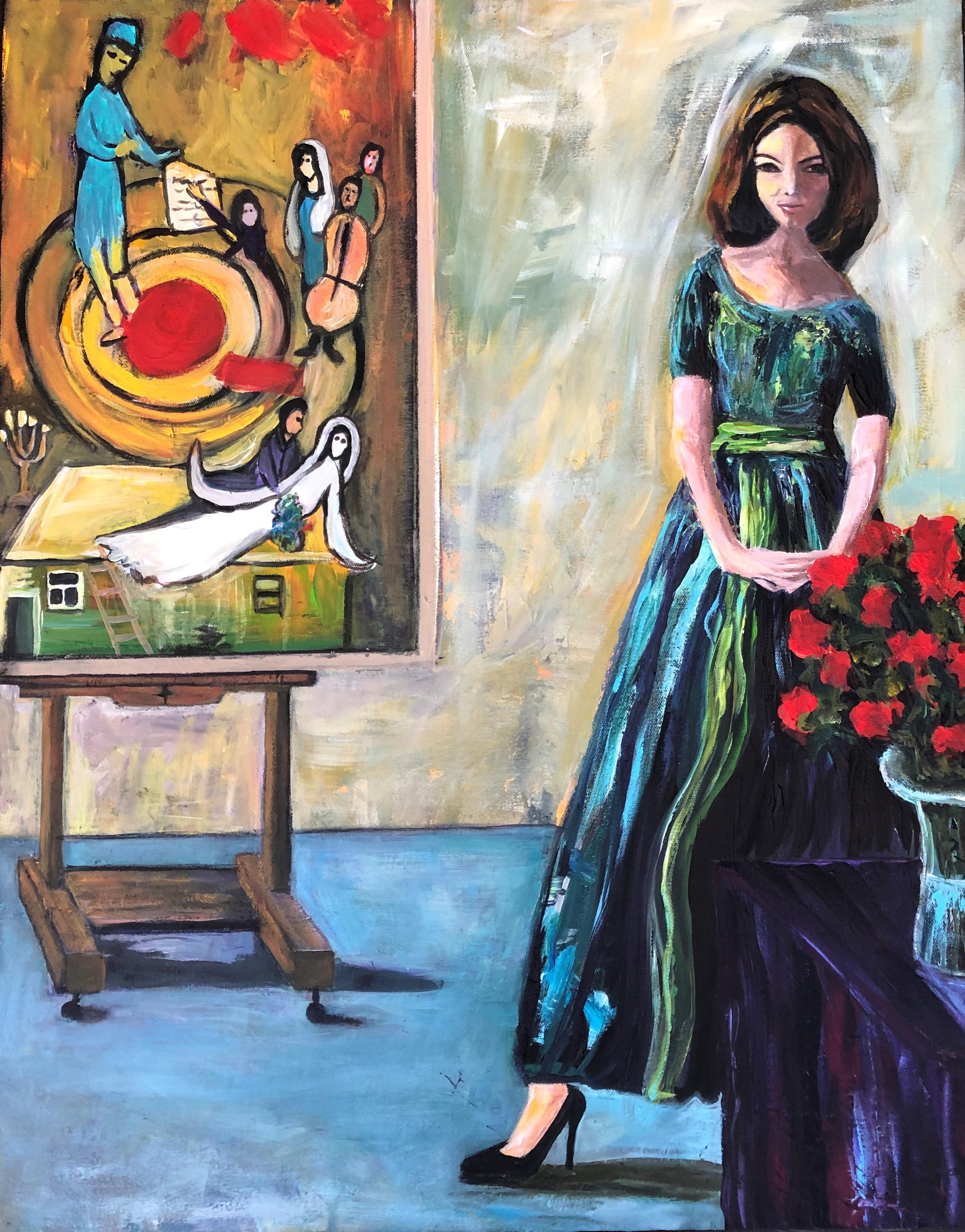 Inside Chagall's Studio