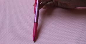 באיזה עט אני משתמשת להעברת דוגמאות רקמה