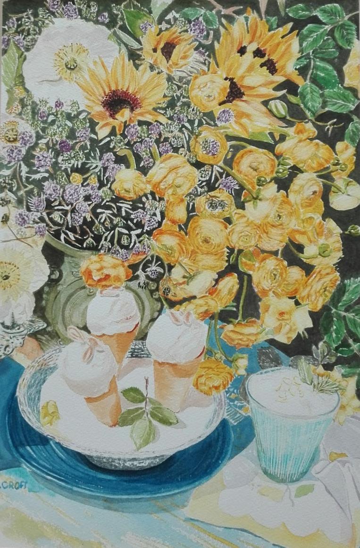 Ice Cream n Flowers