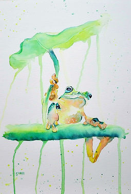 Funky Frog