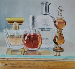 Still life Perfume Bottles