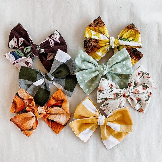 Patterned Pinwheels