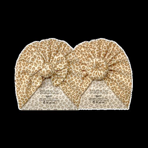 Leopard Headwrap Hat