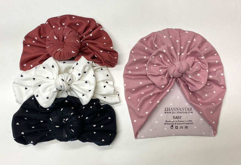Hearts Collection | Baby Hats