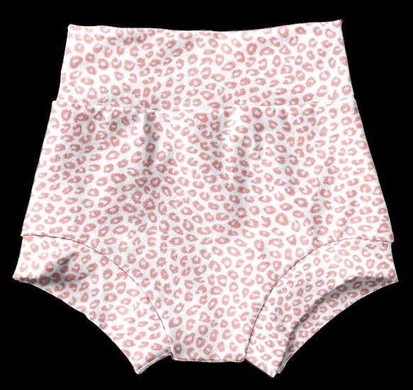 Pink Leopard Bummies