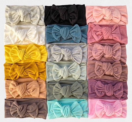 Solids | Chunky Knotted Headband