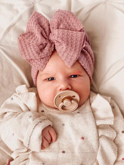 Bow Turban | Dusty Pink
